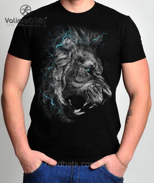 """Футболка молодежная  """"Lion"""" """" Valimark biz """""""