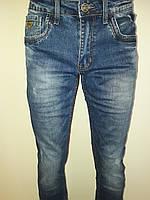 Мужские джинсы с потертостями 2693
