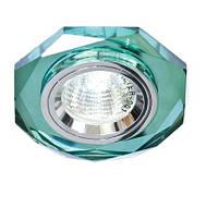 Точечный светильник Feron 8020-2 зеленый, фото 1