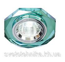 Точечный светильник Feron 8020-2 зеленый