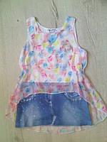 Детское летнее платье туника для девочки 11128 Венгрия