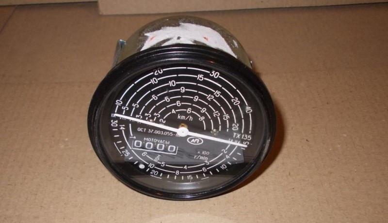 Тахоспидометр с подсветкой (4000 об/мин) МТЗ  (пр-во Владимир)