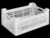 Пищевой пластиковый ящик 600х400х260/220