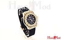 Женские часы  HUBLOT темно -синие