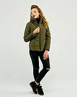 Короткая куртка демисезон хаки