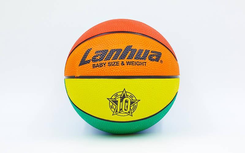Мяч резиновый №1 LANHUA RJ125