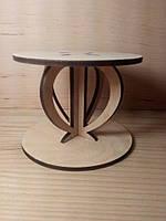 Подсвечник для декора, из дерева, оригинальный дизайн