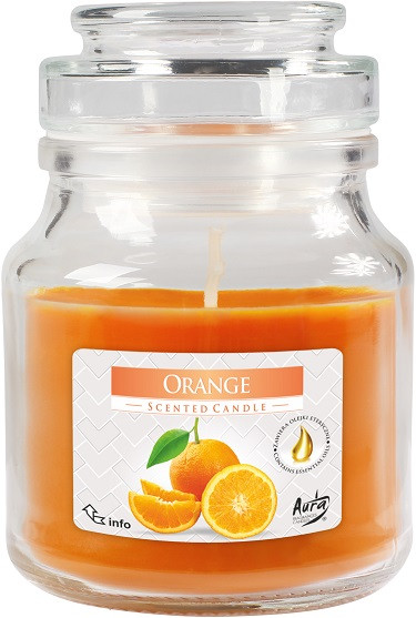 Свеча ароматизированная Bispol Апельсин 10 см (snd71-63)