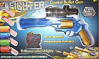 Револьвер с гелевыми пулями и мягкими патронами