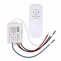 Контроллер и пульт дистанционного управления светом  люстры или светильника (на 1 канал)