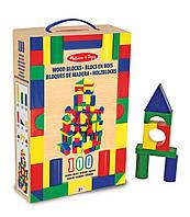 Набор деревянных кубиков, 100 шт - Melissa & Doug