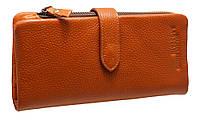 Кожанный женский кошелек N236-1D brown