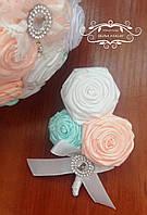 Свадебная бутоньерка для жениха