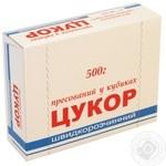 Сахар пресованный в кубиках быстротастворимый ТМ Кристал 500 г - Цена в Одессе