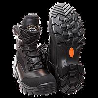 Ботинки Prime Material GL107 черные 42 (гладкая кожа)