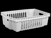 Пищевой пластиковый ящик 600х400х180