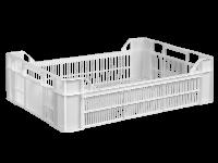 Пищевой пластиковый ящик 600х400х170/130