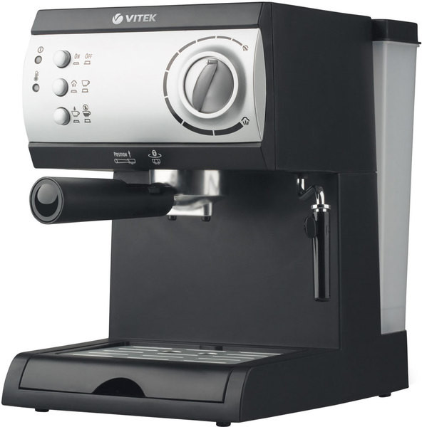 Кофеварка Vitek VT-1511 Black (Домашняя кофеварка)