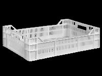 Пищевой пластиковый ящик 600х400х160/120