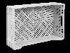 Пищевой пластиковый ящик 600х400х160/120, фото 2