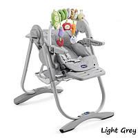 Крісло для годування Chicco Polly Magic 2017 Light Grey