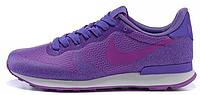 Женские кроссовки Nike Internationalist, найк интернационалист фиолетовые