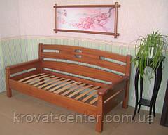 """Диван-кровать """"Луи Дюпон"""". Массив - сосна, ольха, дуб."""