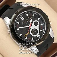 Классные мужские наручные часы O.T.S 8113 All Black