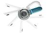 Аккумуляторный пылесос Black&Decker PV1020L (ручной пылесос), фото 2
