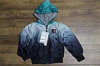 Куртка для мальчиков ( трикотажная подкладка ) 4- 8 лет