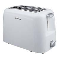 Тостер Maxwell MW-1504 White (хороший тостер)