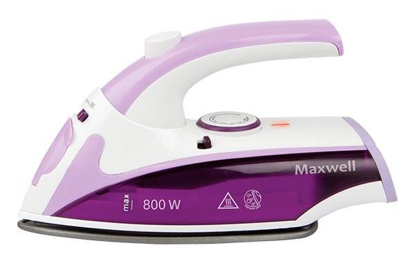 Утюг дорожний Maxwell MW-3057 Violet (паровой утюг)