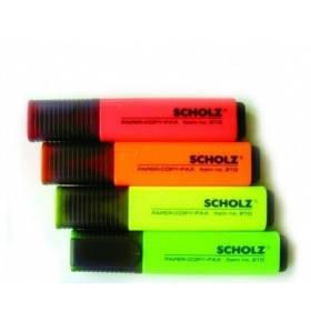 """Маркер """"Scholz"""" текстовый оранжевый SOZ-210, фото 2"""