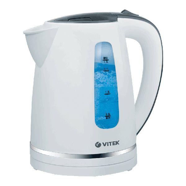 Электрочайник Vitek VT-7018 White (чайник электрический)