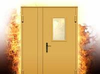 Двери противопожарные EI-60 (остеклённые)