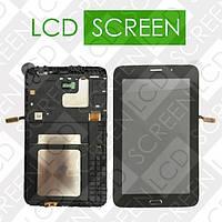 Модуль для планшета Samsung Galaxy Tab 3 Lite T116, черный, дисплей + тачскрин