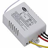 Контроллер и пульт дистанционного управления светом  люстры или светильника (2-х режимный) , фото 2