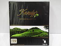 Чай черный Kandy's ceylon black tea 100 пак.