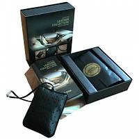 Ароматизатор Areon Leather Collection, кожанный мешочек, Gold Star