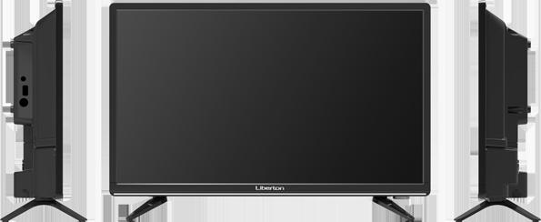 "Телевизор LED 22"" LIBERTON 2216 DBT2              , фото 2"