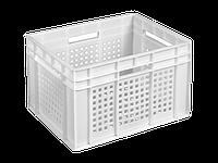 Пищевой пластиковый ящик 433х347х283