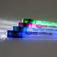Фонарик FERON LifeGear 2 LEDS оранжевый 3* АG13 TL020