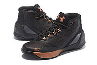 Мужские кроссовки UNDER ARMOUR CURRY 3 (Black and Gold), фото 1