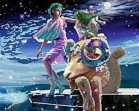 """Схема для вышивки бисером на атласе серии Знаки зодиака """"Овен"""""""
