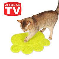 Коврик для домашних животных Paw Print Litter Mat , фото 1
