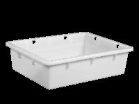 Пищевой пластиковый ящик 530х400х140