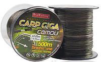 Леска 500м 0,27 BratFishing Carp Giga Camou