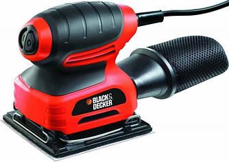 Шлифовальная машина вибрационная BLACK&DECKER KA400-QS