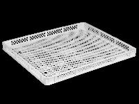 Пищевой пластиковый ящик 745х625х60