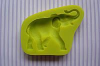 Слон силиконовый молд